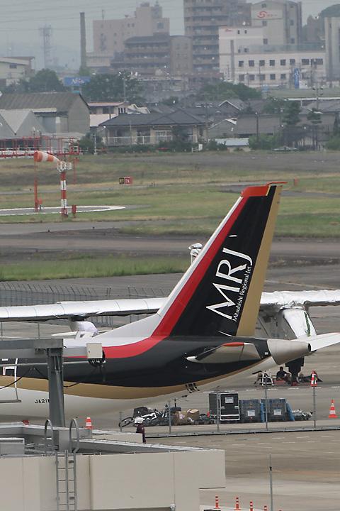 初飛行MRJ