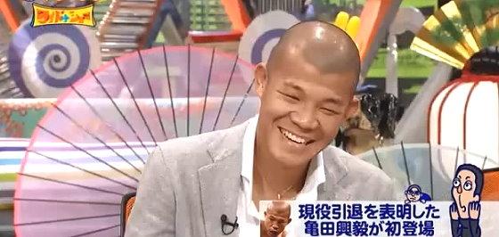 ワイドナショー画像 亀田興毅が引退表明後初のテレビ出演「自分がここにおっていいのかな」 2015年10月25日