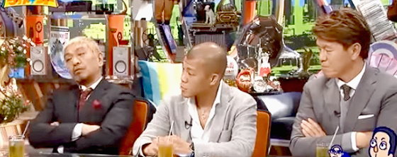 ワイドナショー画像 亀田興毅「弟たちからはもっと早く辞めろと言われていた」にヒロミと松本人志が感心 2015年10月25日
