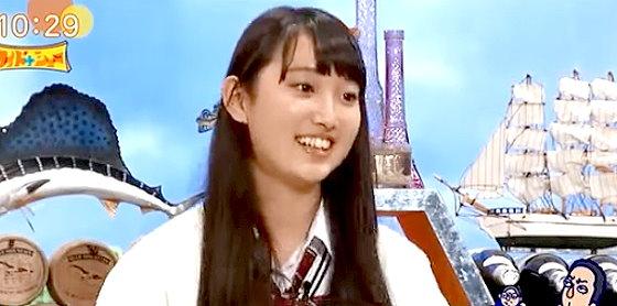 ワイドナショー画像 ワイドナ現役高校生の青木珠菜が「尾田栄一郎先生に会いたい」 2015年10月25日