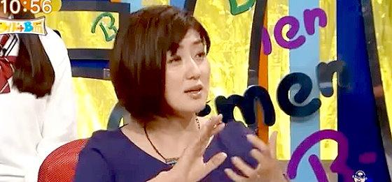 ワイドナショー画像 マドンナが遅刻者に足キスを強要というニュースを進行する佐々木恭子アナ 2015年10月25日