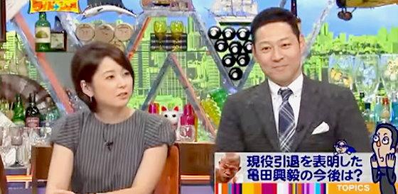 ワイドナショー画像 自分の息子にはボクシングをさせたくないという亀田興毅に理由を尋ねる秋元優里アナウンサー 2015年10月25日