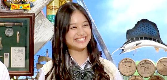 ワイドナショー画像 ワイドナ現役高校生としてハーフの長谷川ニイナが登場 2015年11月8日