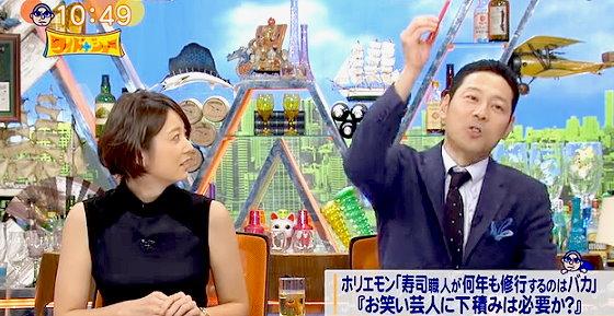 ワイドナショー画像 東野幸治「お笑い芸人には下積みは似合わない。修行なしでドーンと上に行くのが華やかだ」 2015年11月8日