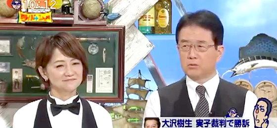 ワイドナショー画像 長谷川まさ子 犬塚浩弁護士 大沢樹生が長男を訴えた裁判について解説 2015年11月22日
