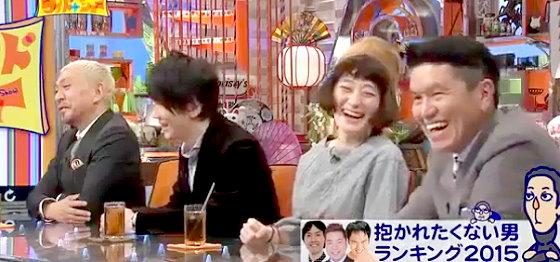 ワイドナショー画像 松本人志 古市憲寿 コムアイ ヒロミ「抱かれたい男1位が振られたらショック」 2015年11月29日