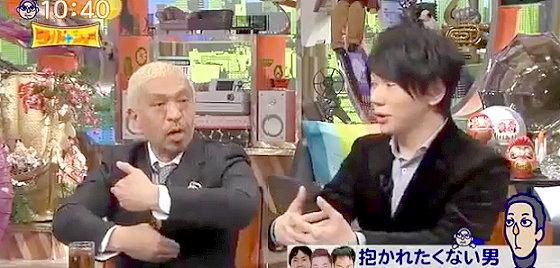 ワイドナショー画像 松本人志 古市憲寿「抱かれたくない男ランキングの意味をぼかしてるのは生々しくなるから」 2015年11月29日
