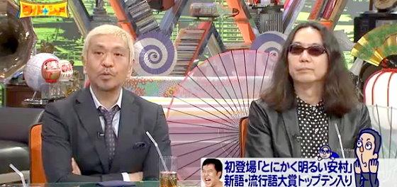 ワイドナショー画像 とにかく明るい安村の「安心してください」はガキの使いで誕生した話を聞く松本人志とみうらじゅん 2015年12月6日