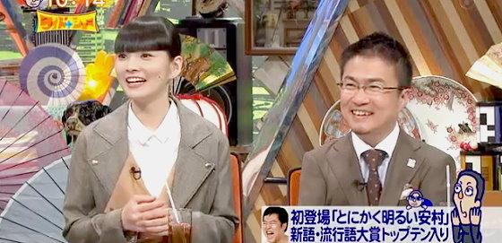 ワイドナショー画像 とにかく明るい安村の話を聞く秋元梢と乙武洋匡 2015年12月6日