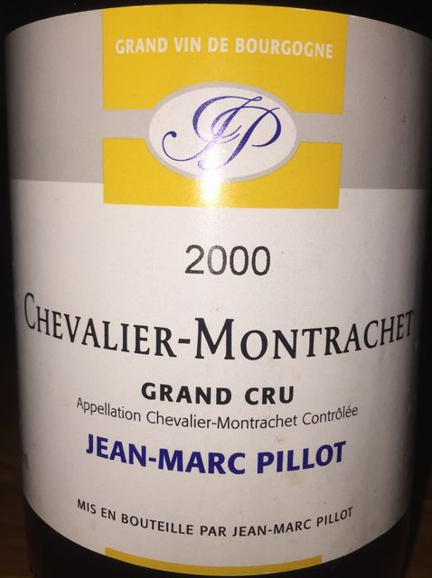 Chevalier Montrachet Grand Cru Jean Marc Pillot 2000