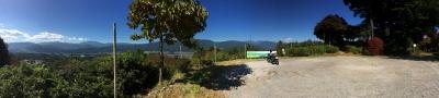 城山公園から中央アルプス