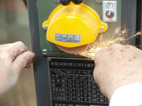 P4060038 グラインダー加工