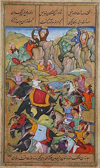 ティムールとトゥグルク朝の戦い