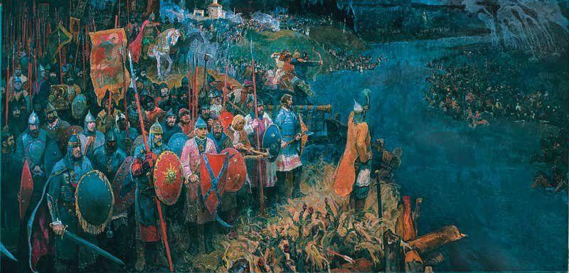 ウグラ河畔の対峙