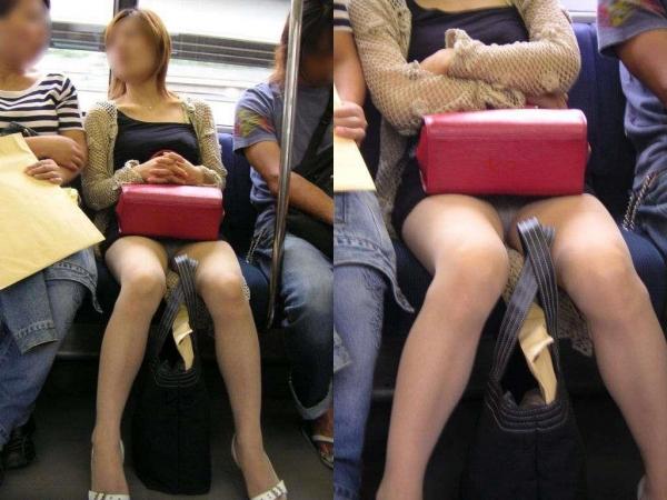 電車内パンチラ画像 20