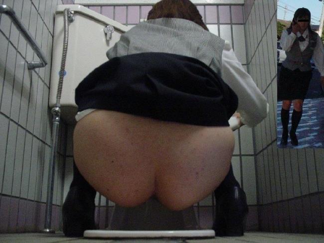 和式トイレ盗撮画像 1
