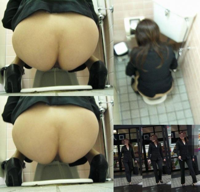 和式トイレ盗撮画像 2