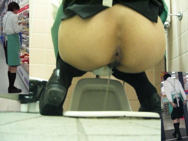 和式トイレ盗撮画像 9