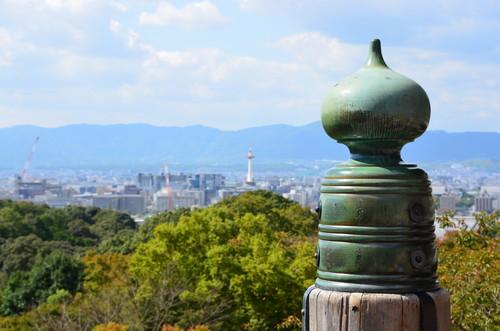 A view of Kyoto from Kiyomizu-dera