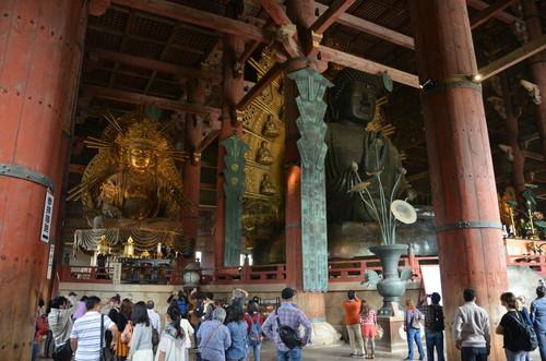 Inside Todai-ji