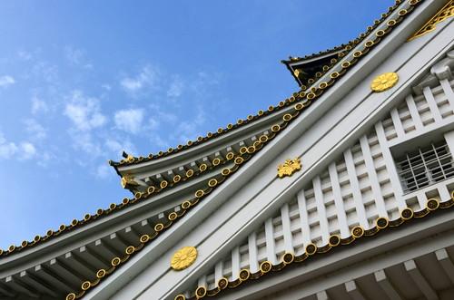 Osaka Castle detail