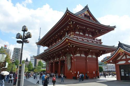 Senso-ji Outer Gate - Asakusa, Tokyo