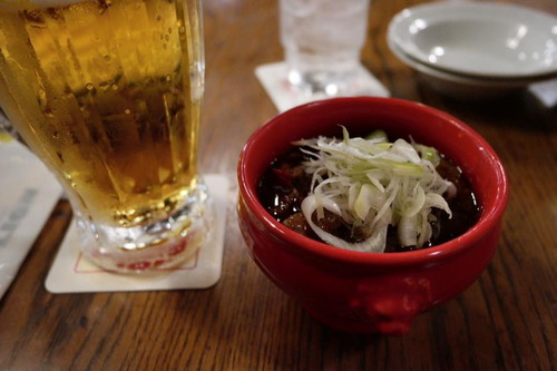 Braised pork stew at the Soporro Beer hall in tokyo