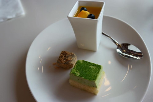 our desert plate at the imperial palace