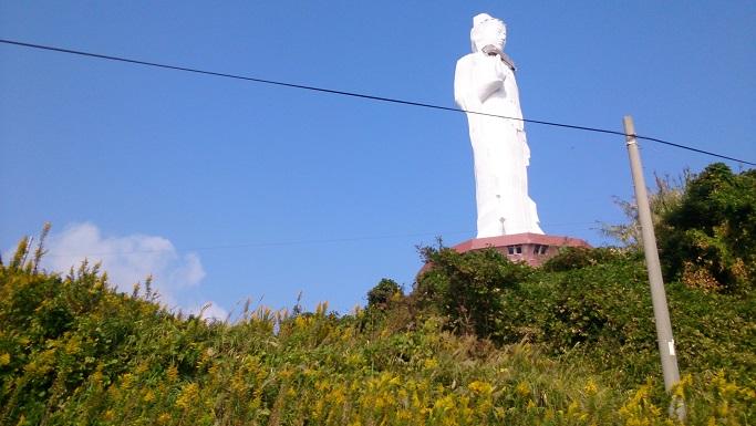 淡路島に巨大仏像