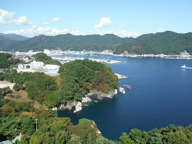 2015秋の釜石港