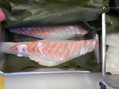 007真鯛の昆布〆