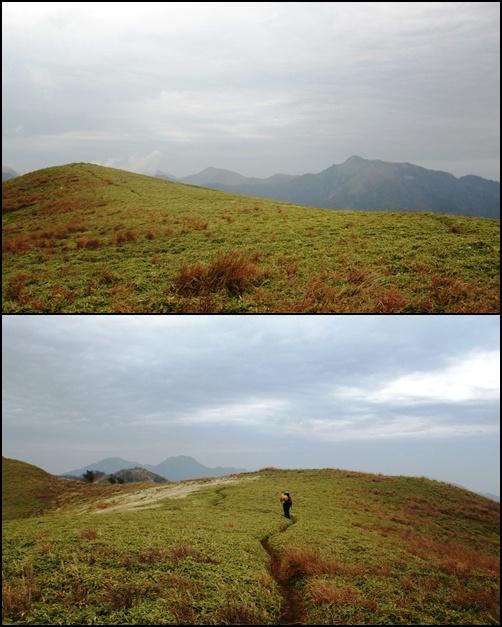 035 稜線を歩く