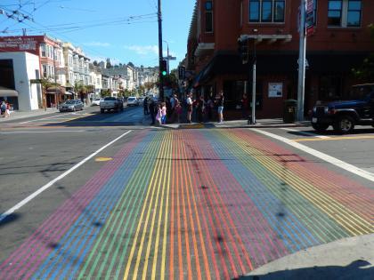 SFO+HNL2015.7サンフランシスコカストロストリート