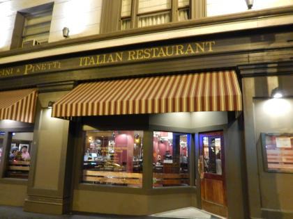 SFO+HNL2015.7サンフランシスコ夕食イタリアンレストラン