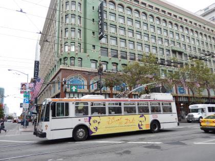 SFO+HNL2015.7サンフランシスコストリートカー