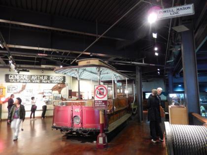 SFO+HNL2015.7サンフランシスコケーブルカー博物館