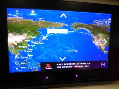 SFO+HNL2015.7デルタ航空シアトル発羽田行き