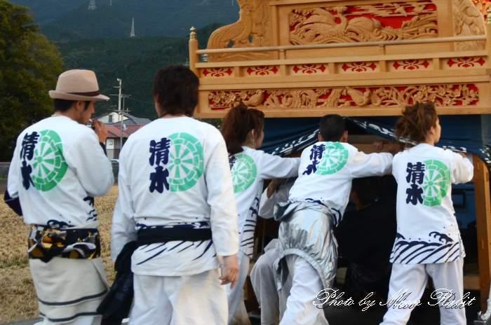 祭り装束 西条祭り 清水町屋台(だんじり)