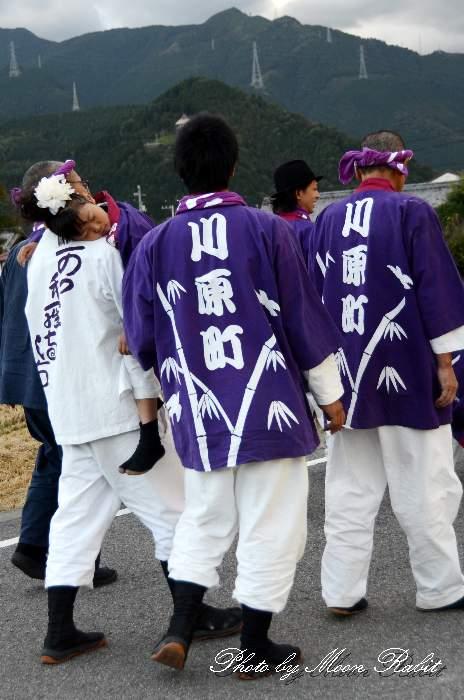 川原町屋台(川原町だんじり) 祭り装束 西条祭り