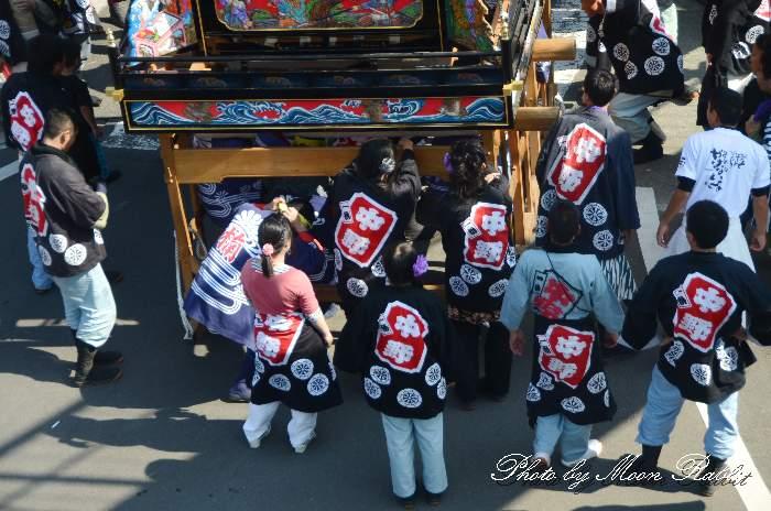 中野一番だんじり(屋台) 祭り装束 西条祭り 伊曽乃神社祭礼