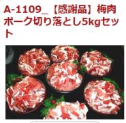 都城市 豚肉5キロ
