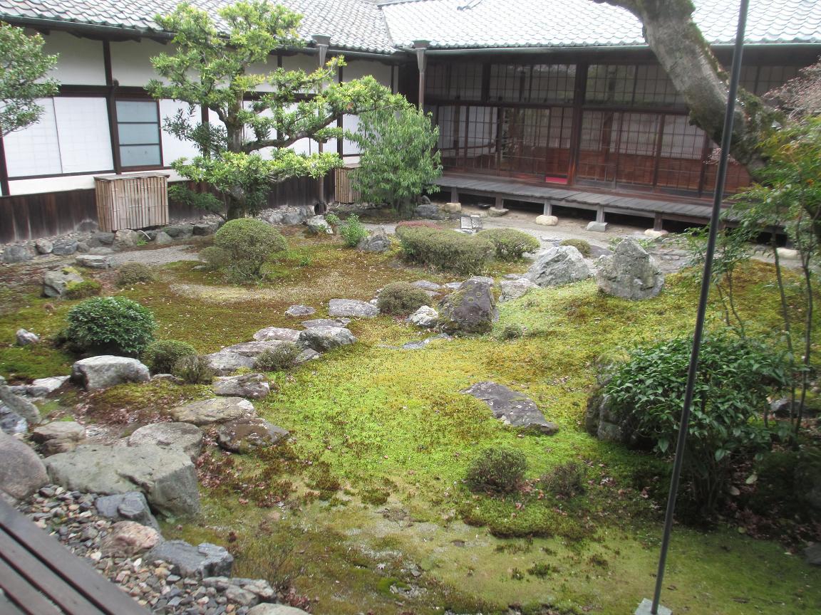 醍醐寺 苔庭1