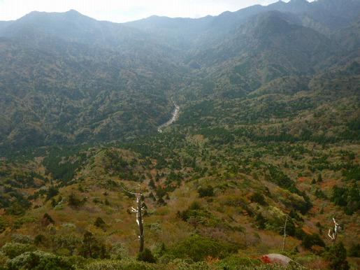 太鼓岩からの眺望(11月5日)