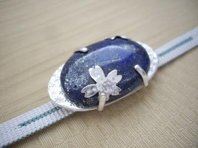metalsmith lapis lazuri sakura