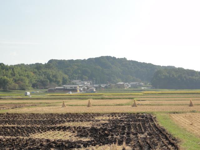 2015年10月20日 香久山と田園風景