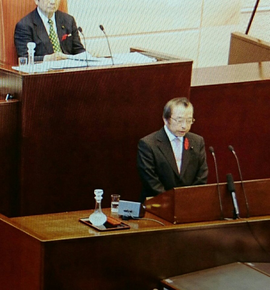 【県議会終了】