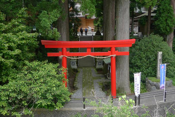 駿河の神社  須山浅間神社  1