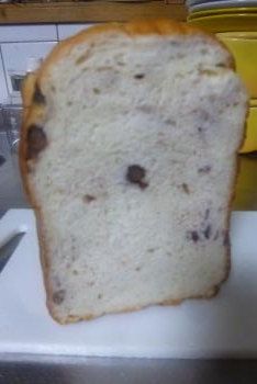 今日の一品 友人が焼いたお米パン