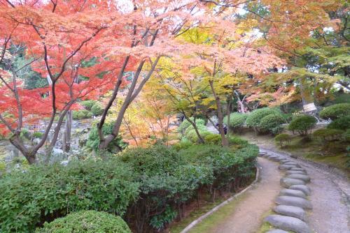 紅葉渓庭園 2015 秋鳶魚閣