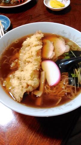 天ぷらラーメン